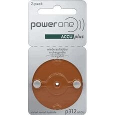 Powerone Rechargeable Hearing Aid P312 blister 2, image